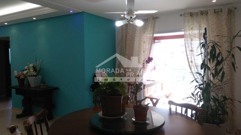 Sacada dormitório do apartamento com 3 dormitórios em CANTO DO FORTE - PRAIA GRANDE