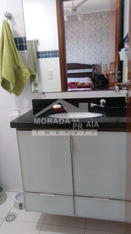 Cozinha do apartamento com 3 dormitórios em CANTO DO FORTE - PRAIA GRANDE