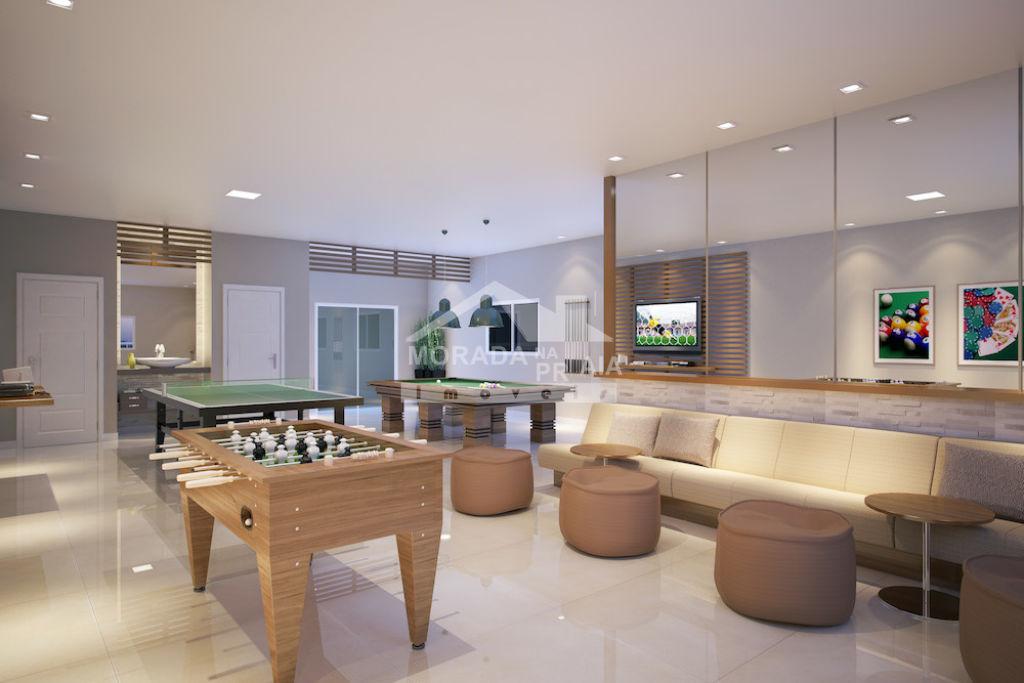 Salão de Jogos do apartamento com 1 dormitórios em CAIÇARA - PRAIA GRANDE