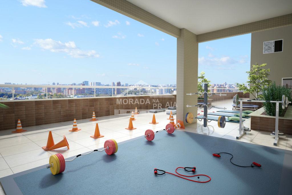 Espaço livre do apartamento com 2 dormitórios em CAIÇARA - PRAIA GRANDE