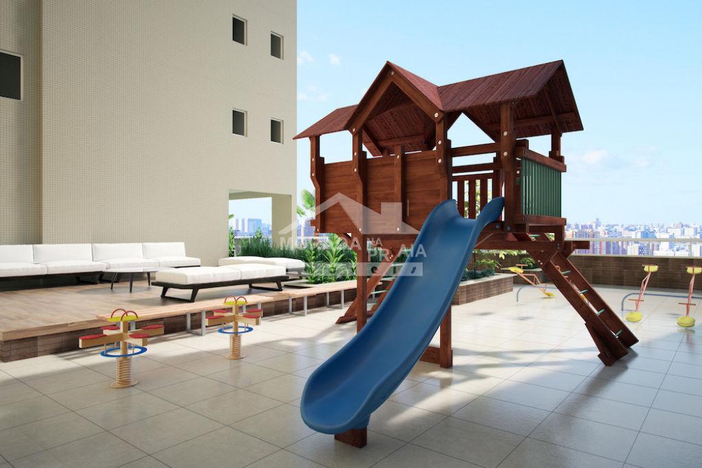 Playground do apartamento com 2 dormitórios em CAIÇARA - PRAIA GRANDE