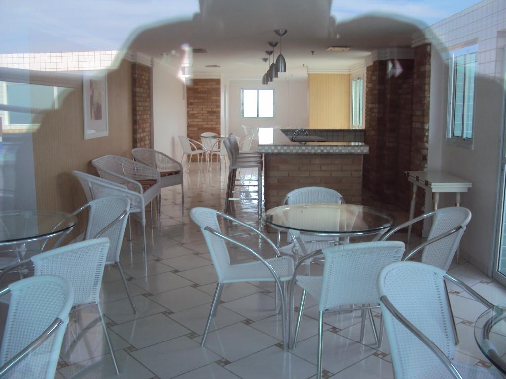 Cozinha ang 02 do apartamento com 1 dormitórios em BOQUEIRÃO - PRAIA GRANDE