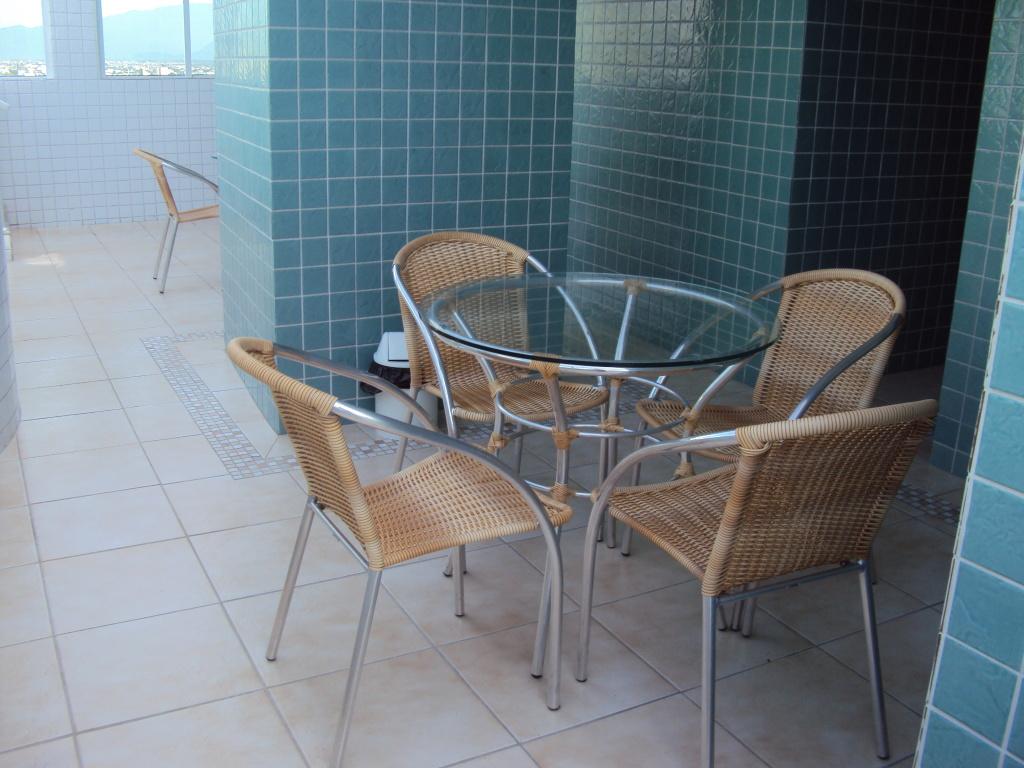 Área de serviço do apartamento com 1 dormitórios em BOQUEIRÃO - PRAIA GRANDE
