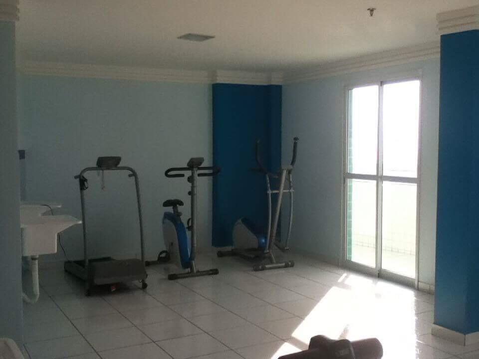 Sacada do dormitório do apartamento com 1 dormitórios em BOQUEIRÃO - PRAIA GRANDE