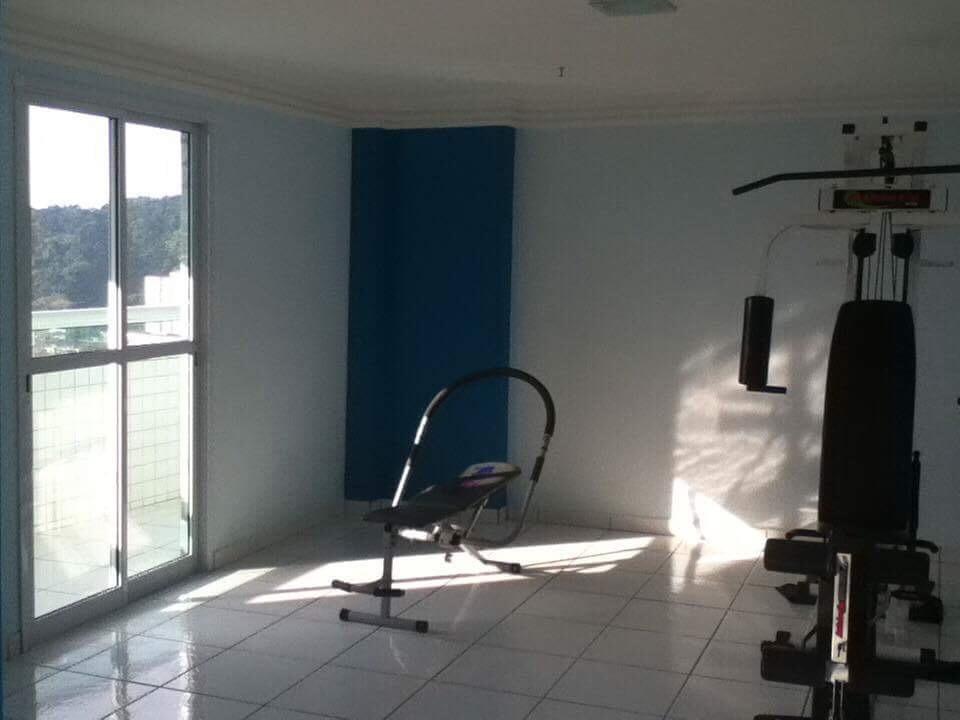 Sacada do dormitório ang 02 do apartamento com 1 dormitórios em BOQUEIRÃO - PRAIA GRANDE
