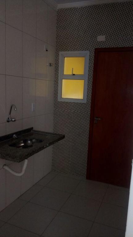 Cozinha do condomínio fechado com 2 dormitórios em MELVI - PRAIA GRANDE