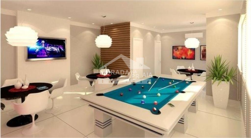 Salão de jogos do apartamento com 2 dormitórios em Cidade Ocian - Praia Grande