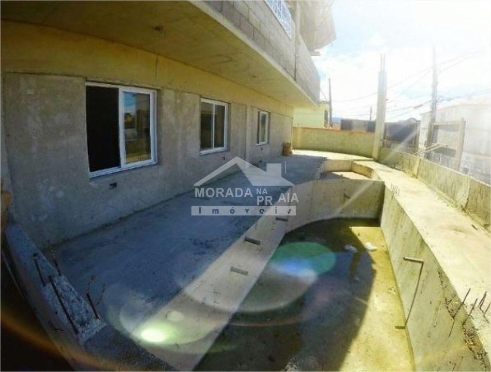 Piscina do apartamento com 2 dormitórios em Cidade Ocian - Praia Grande