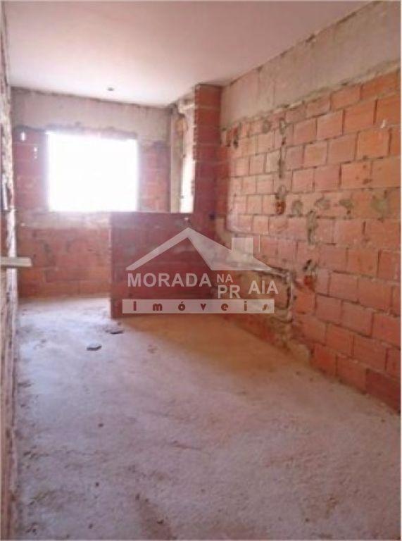 Sala do apartamento com 2 dormitórios em Campo da Aviação - Praia Grande