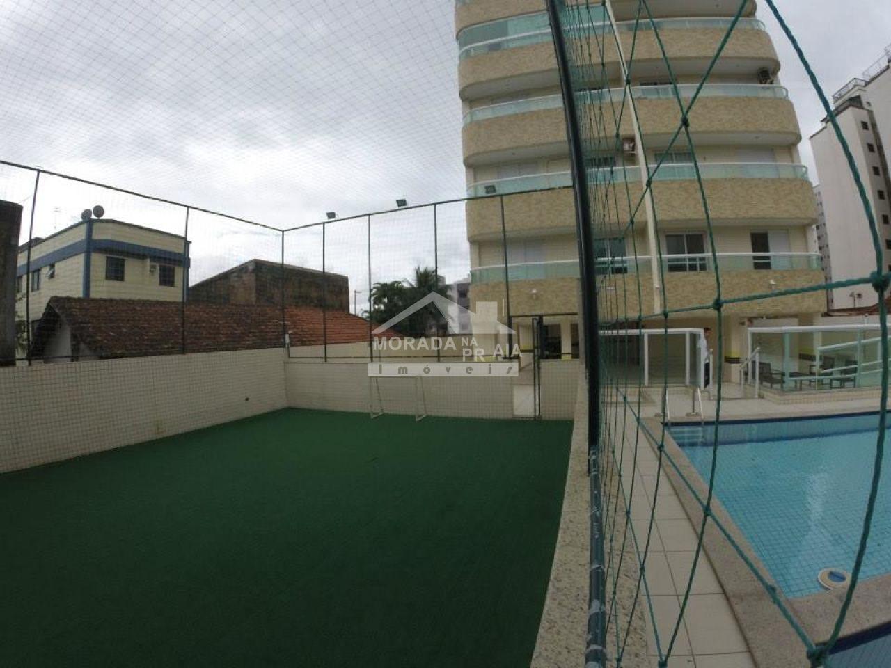 Quadra poliesportiva ang 02 do apartamento com 1 dormitórios em AVIAÇÃO - PRAIA GRANDE