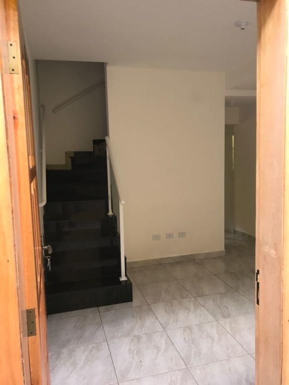 Sala do condomínio fechado com 2 dormitórios em TUDE BASTOS - PRAIA GRANDE