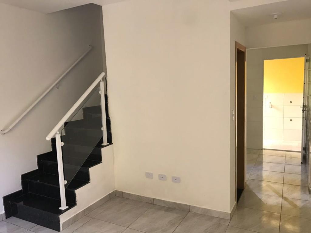 Sala ang 02 do condomínio fechado com 2 dormitórios em TUDE BASTOS - PRAIA GRANDE