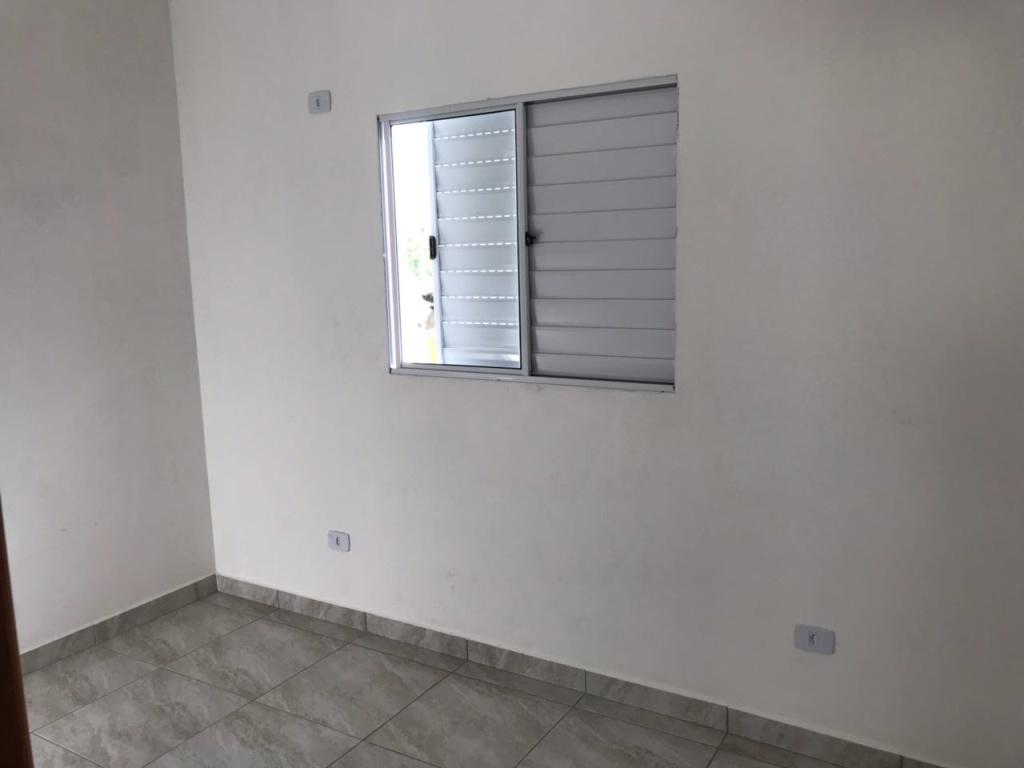 Dormitório 01 do condomínio fechado com 2 dormitórios em TUDE BASTOS - PRAIA GRANDE