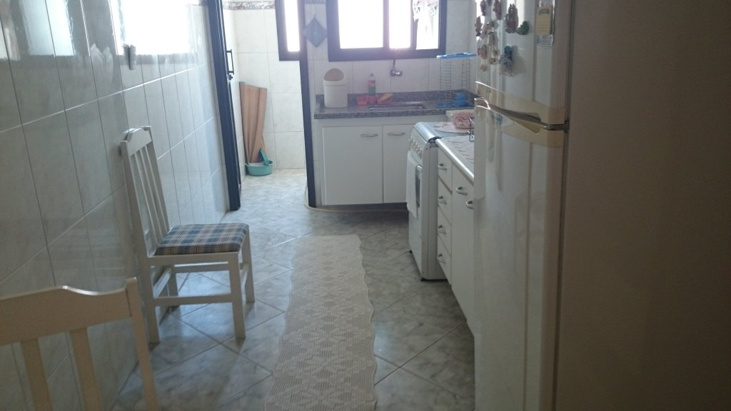 Cozinha ang 02 do apartamento com 1 dormitórios em Campo da Aviação - Praia Grande