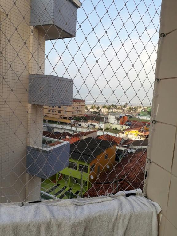 Sacada do apartamento com 1 dormitórios em MIRIM - PRAIA GRANDE