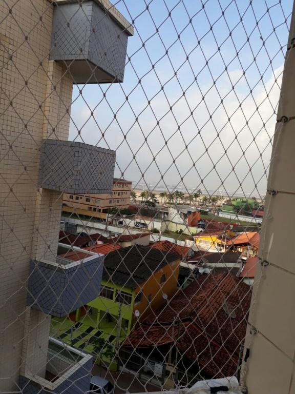 Vista da Sacada do apartamento com 1 dormitórios em MIRIM - PRAIA GRANDE