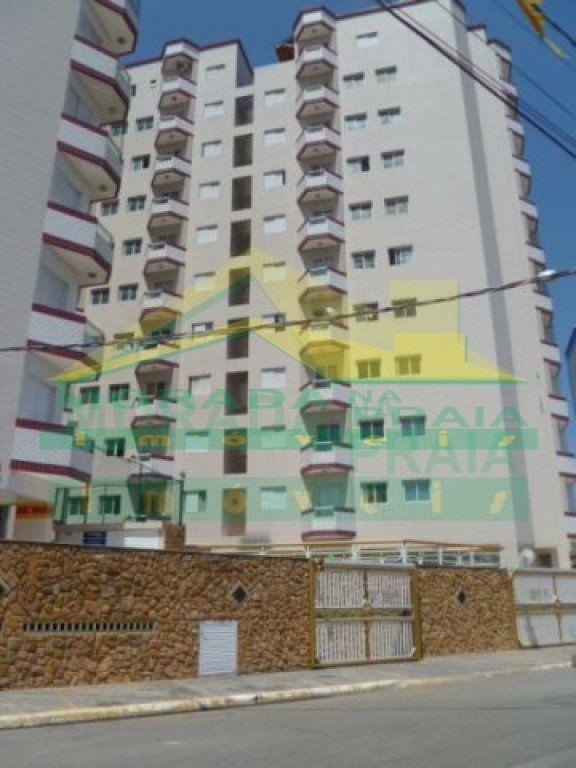 Fachada do apartamento com 1 dormitórios em MIRIM - PRAIA GRANDE