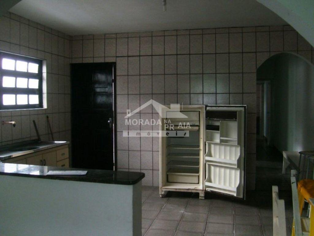 Cozinha do casa geminada com 2 dormitórios em CAIÇARA - PRAIA GRANDE