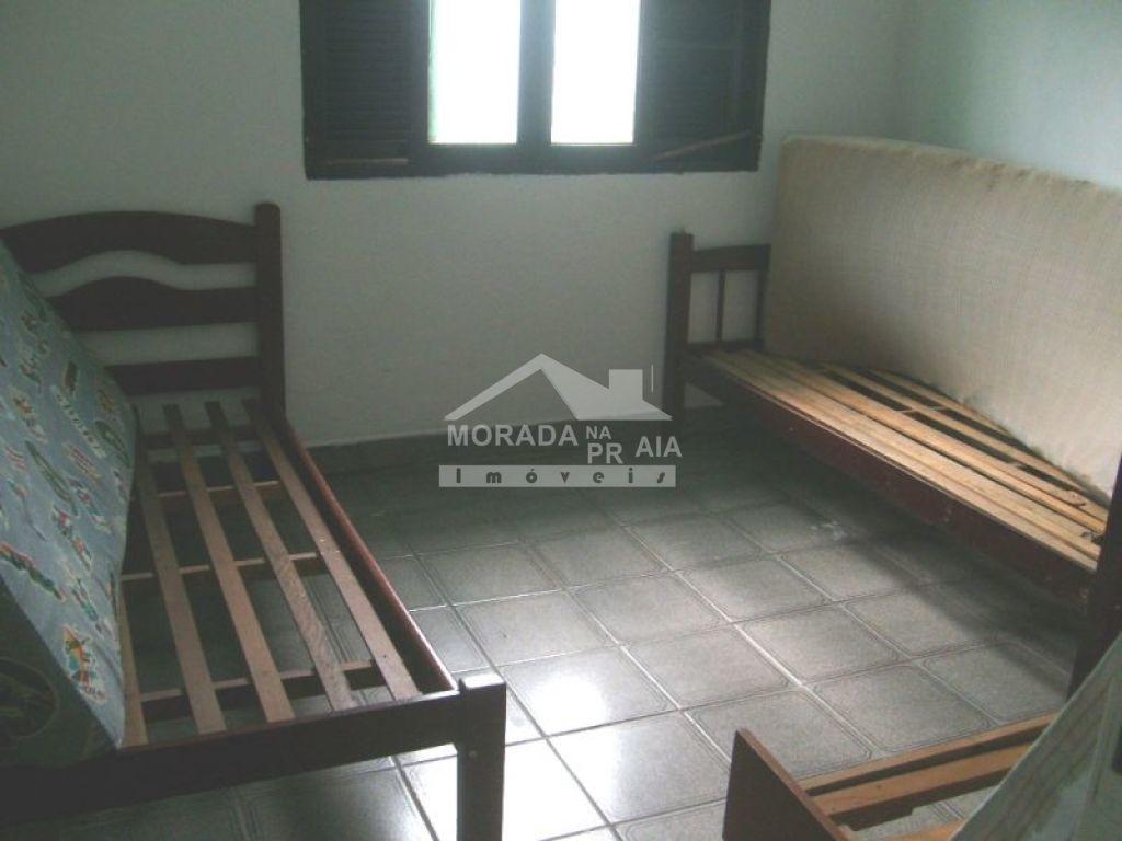 Dormitório do casa geminada com 2 dormitórios em CAIÇARA - PRAIA GRANDE