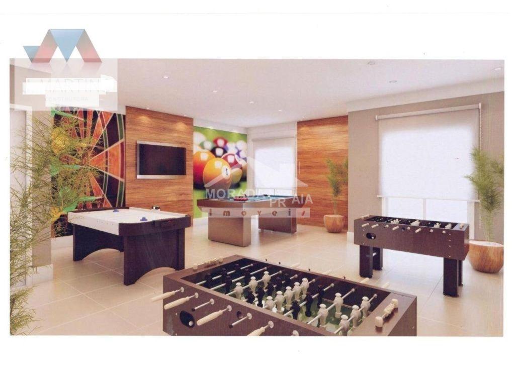 Salão de Jogos do apartamento com 2 dormitórios em OCIAN - PRAIA GRANDE