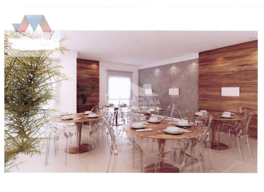 Salão de Festas do apartamento com 2 dormitórios em OCIAN - PRAIA GRANDE