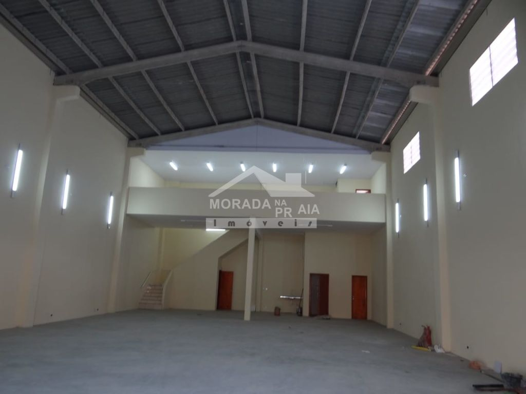 Galpão ang 02 do galpão com  dormitórios em Vila Guilhermina - Praia Grande