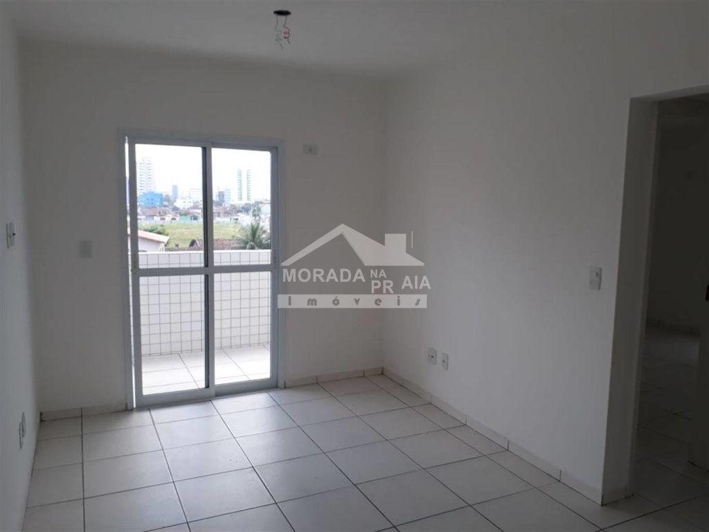Sala do apartamento com 2 dormitórios em GUILHERMINA - PRAIA GRANDE