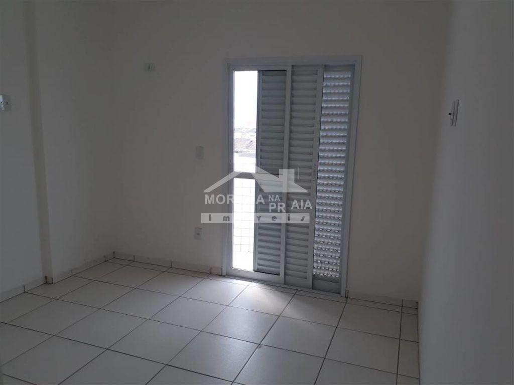Dormitório do apartamento com 2 dormitórios em GUILHERMINA - PRAIA GRANDE