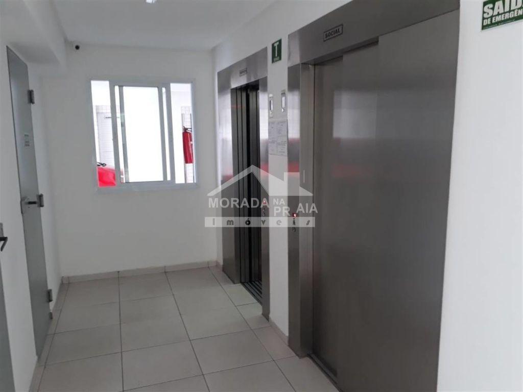 Elevadores do apartamento com 2 dormitórios em GUILHERMINA - PRAIA GRANDE