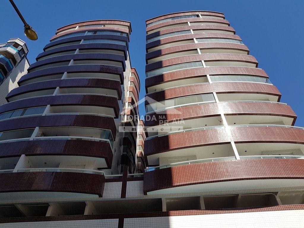 Fachada do apartamento com 1 dormitórios em OCIAN - PRAIA GRANDE