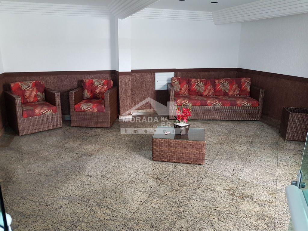 Hall de entrada do apartamento com 1 dormitórios em OCIAN - PRAIA GRANDE