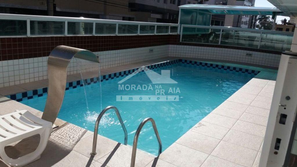 Piscina ang 02 do apartamento com 1 dormitórios em OCIAN - PRAIA GRANDE