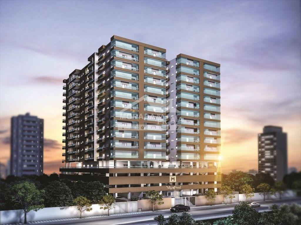 Fachada do apartamento com 2 dormitórios em CAIÇARA - PRAIA GRANDE