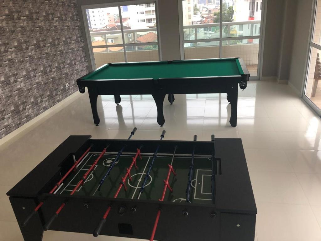 Salão de jogos do apartamento com 3 dormitórios em Vila Guilhermina - Praia Grande