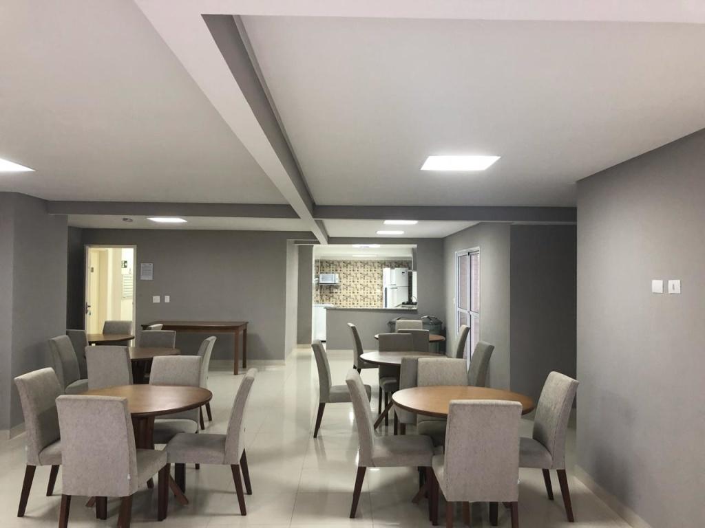 salão de festas do apartamento com 3 dormitórios em Vila Guilhermina - Praia Grande
