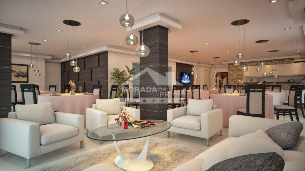 Salão de Festas do apartamento com 2 dormitórios em Campo da Aviação - Praia Grande