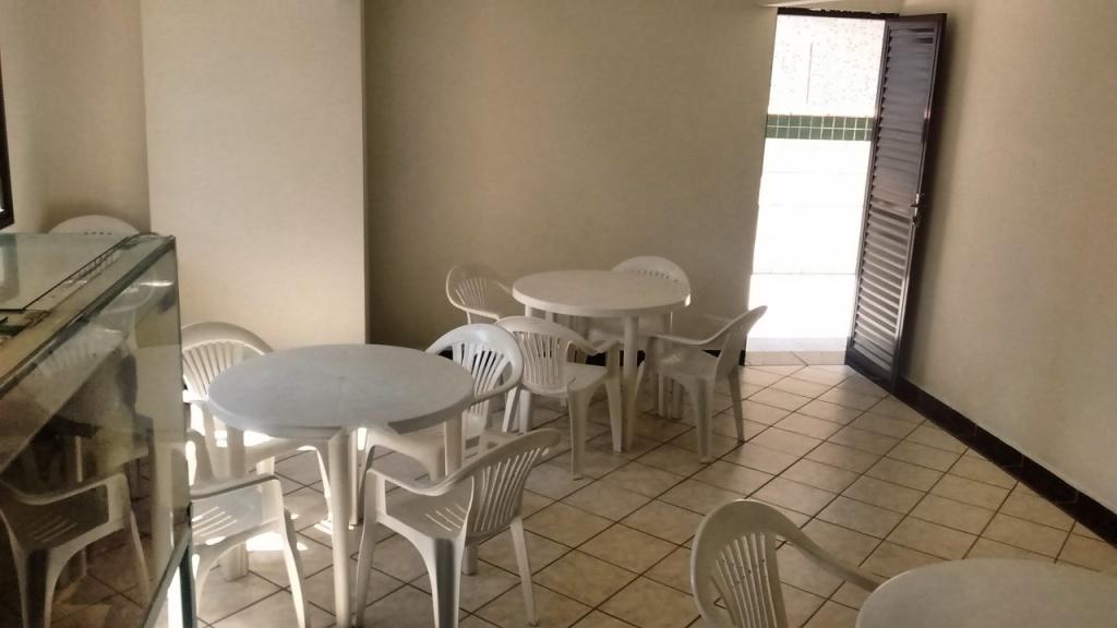 Salão de Festas do apartamento com 1 dormitórios em Vila Guilhermina - Praia Grande