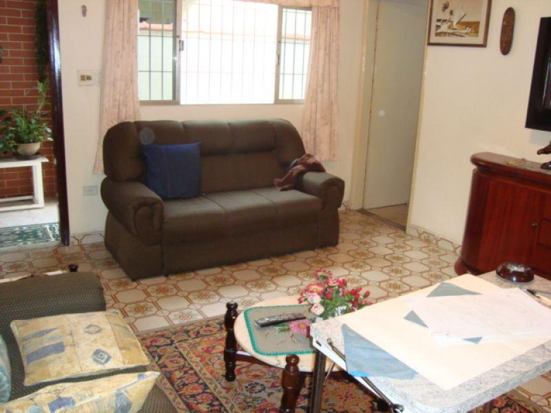 Sala ang 02 do casa geminada com 3 dormitórios em GUILHERMINA - PRAIA GRANDE