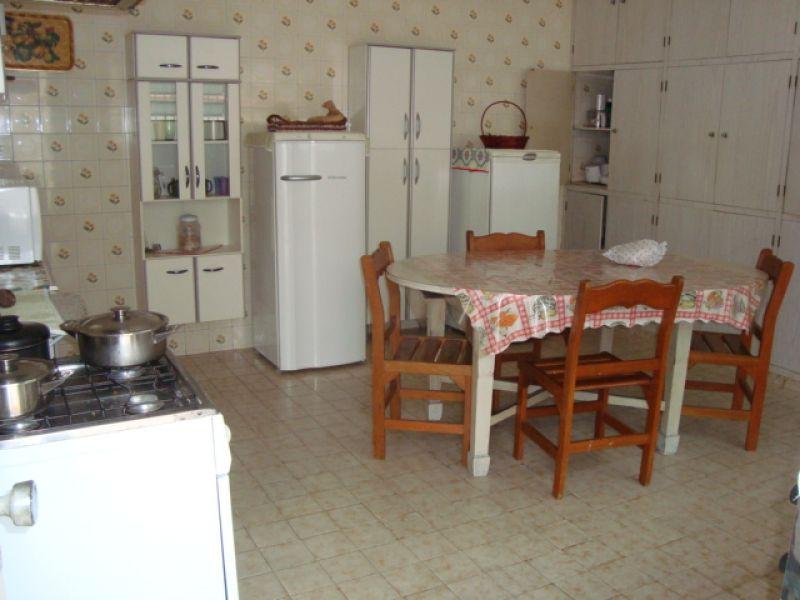 Cozinha  do casa geminada com 3 dormitórios em GUILHERMINA - PRAIA GRANDE