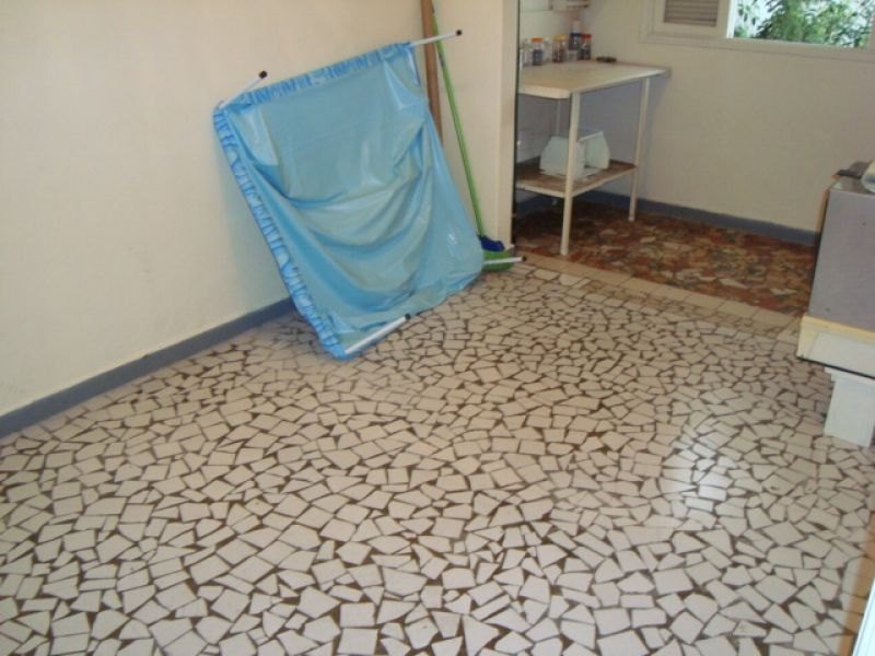 Dormitório da edícula  do casa geminada com 3 dormitórios em GUILHERMINA - PRAIA GRANDE