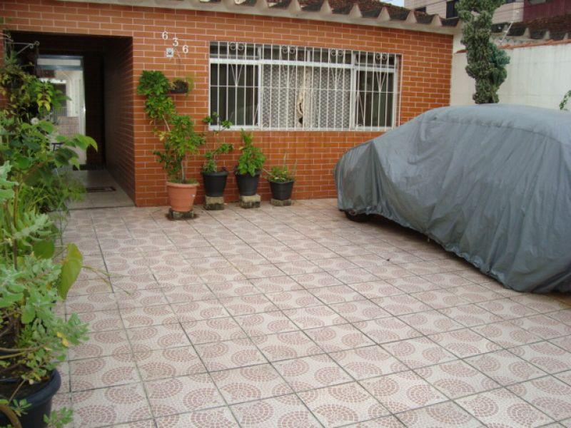 Garagem do casa geminada com 3 dormitórios em GUILHERMINA - PRAIA GRANDE