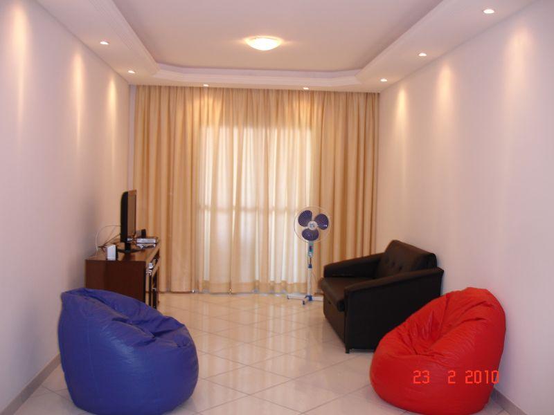 Sala ang 02 do apartamento com 3 dormitórios em GUILHERMINA - PRAIA GRANDE