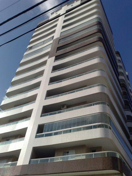 Fachada do apartamento com 3 dormitórios em GUILHERMINA - PRAIA GRANDE