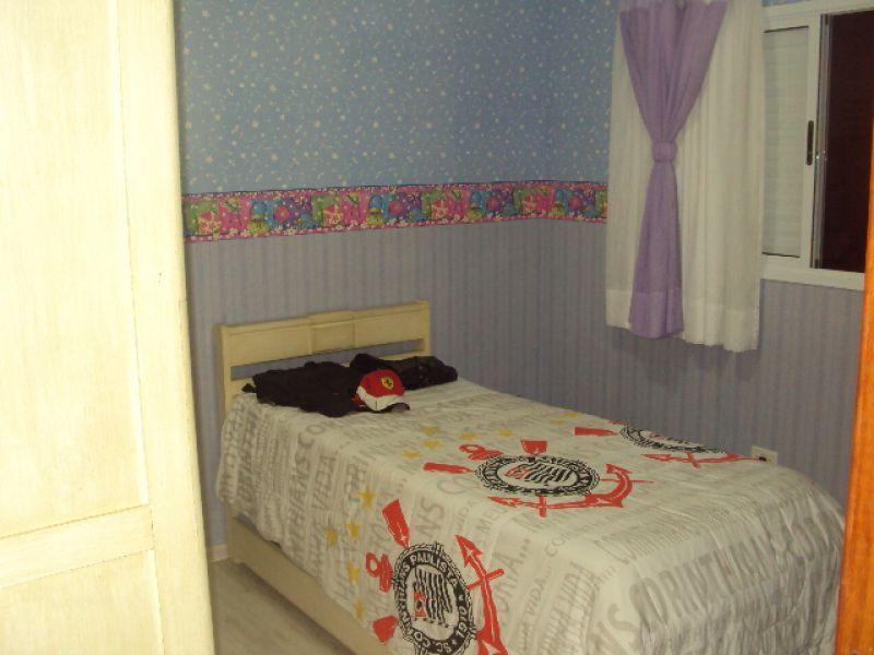 Dorm do apartamento com 2 dormitórios em CANTO DO FORTE - PRAIA GRANDE
