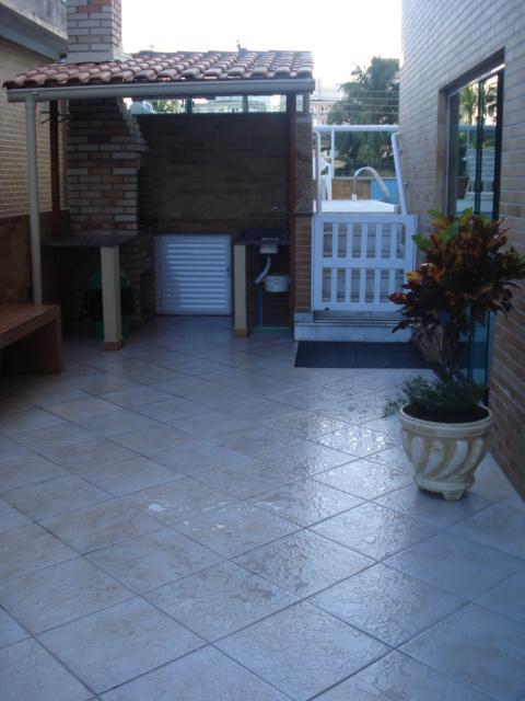 Churrasqueira do apartamento com 2 dormitórios em CANTO DO FORTE - PRAIA GRANDE