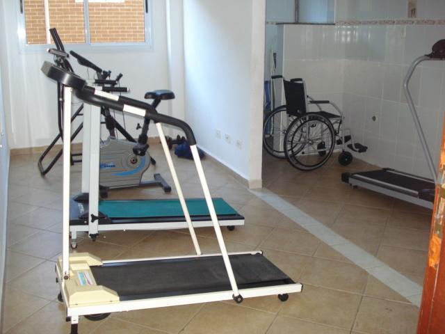 Academia do apartamento com 2 dormitórios em CANTO DO FORTE - PRAIA GRANDE