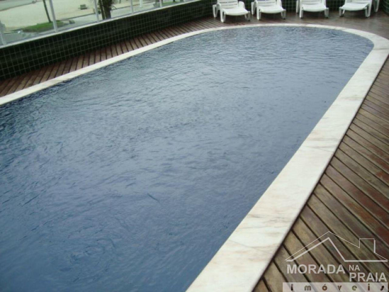 piscina do apartamento com 3 dormitórios em CANTO DO FORTE - PRAIA GRANDE