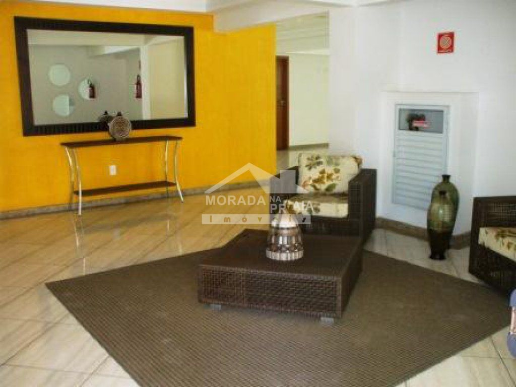 Hall de entrada do apartamento com 2 dormitórios em TUPI - PRAIA GRANDE