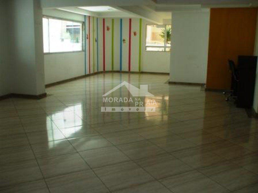 Salão de festas do apartamento com 2 dormitórios em TUPI - PRAIA GRANDE