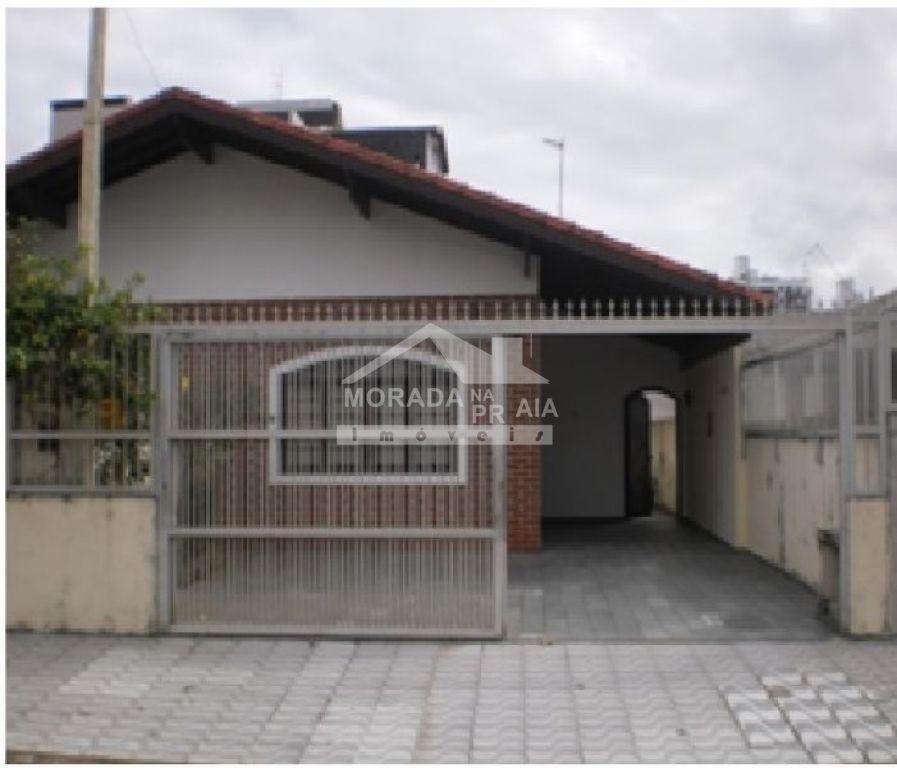 Fachada do casa geminada com 3 dormitórios em MIRIM - PRAIA GRANDE